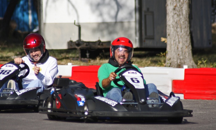Alamo Karts - San Antonio: Three Go-Kart Races for One, Two, or Four at Alamo Karts (Up to 71% Off)
