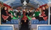 Sacramento RiverTrain - Woodland: Ride for One on The Christmas Train from Sierra Railroad Dinner Train (40% Off). 18 Dates and TimesAvailable.