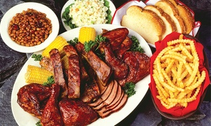 Woody's Bar-B-Q: $8 for $16 Worth of Barbecue at Woody's Bar-B-Q