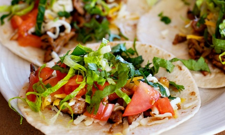 $8 for $16 Worth of Mexican Food at Felipe's Tacos