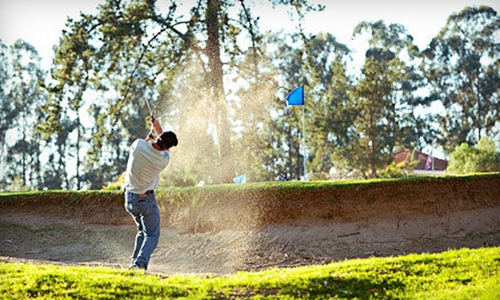 Blacklake Golf Resort - Blacklake: Unlimited Rounds of Golf with Range Balls, Hot Dogs, and Soda for One or Two at Blacklake Golf Resort (Up to 67% Off)