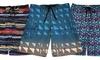 Just Bones Boardwear Boys' Board Shorts: Just Bones Boardwear Boys' Patterned Board Shorts