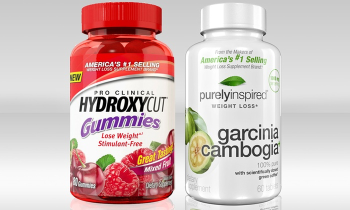 Hydroxycut Gummies And Garcinia Cambogia Weight Loss Supplements Groupon