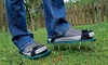 Garden Aerating Spike Shoes