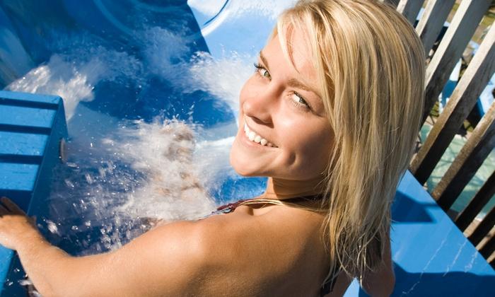 Aquaneva - Aquaneva: Aquaneva - Ingresso giornaliero al parco divertimenti e cena con spettacolo da 9,90 €