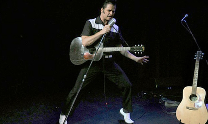 "Blue Suede Shoes - Central Hamilton: ""Blue Suede Shoes"" Elvis Theatrical Production at Hamilton Place on February 7 or 8 (Up to $45.25 Value)"