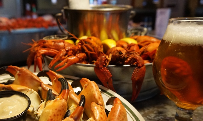 The Fish Company - Atlantic Beach: Local Seafood for Lunch or Dinner at The Fish Company, Valid Monday–Saturday (40% Off). Three Options Available.
