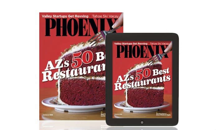 Phoenix Magazine: $8 for 12 Monthly Issues of _Phoenix Magazine_ ($14.95 Value)