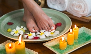 Sueno Spa @ the Sheraton Guildford Hotel: Pedicure with Optional Collagen Anti-Aging Facial at Sueno Spa @ the Sheraton Guildford Hotel (Up to 41% Off)