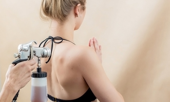 Montage Boutique Spa - Manhattan Beach: $69 for Two Custom Airbrush Spray Tans at Montage Boutique Spa ($130 Value)