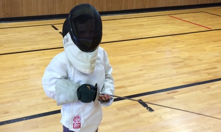 $95 for Intro to Fencing Summer Camp  at Cannon Fencing Academy LLC