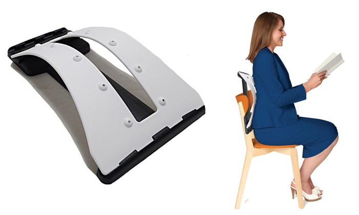 Orthopedic 3-Level Lumbar Back Stretcher: 3-in-1 Back Stretcher. Free Returns.
