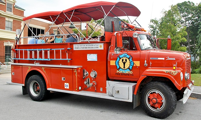 Portland Fire Engine Co. Tours - Downtown: City Fire Engine Tour for Two or Up to Four from Portland Fire Engine Co. Tours (Up to 38% Off)