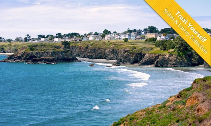 The Mendocino Hotel - Northern California - Mendocino, CA: Two-Night Stay with a Bottle of Wine at The Mendocino Hotel - Northern California in Mendocino, CA
