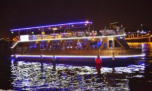 Venus Cruises: Glass Boat Dinner Cruise for Up to Four with Venus Cruises