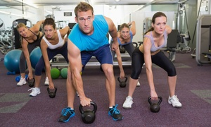 EŌS Fitness- San Diego: $49 for 30-Day Membership with Group Training Sessions at Eos Fitness- San Diego ($278.90 Value)