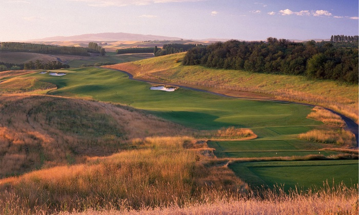 Palouse Ridge Golf Club - Pullman: 18 Holes of Golf for Two or Four Including Cart Rental at Palouse Ridge Golf Club (Up to 52% Off)