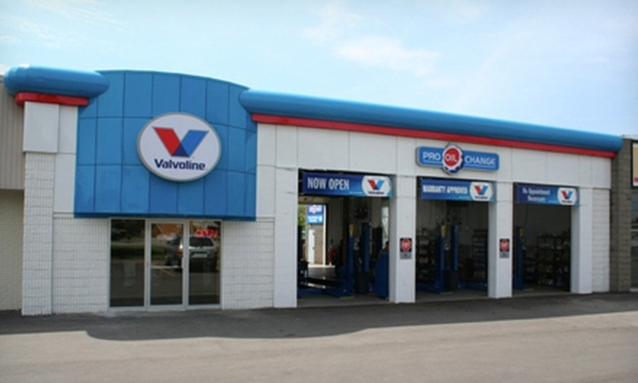 Pro Oil Change - Ajax: $18 for Oil-Change Package with 21-Point Inspection and Fluid Top Off at Pro Oil Change ($49.70 Value)