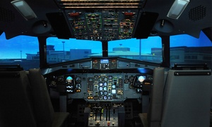 Leading Edge Flight Training Ltd: 60-Minute Flight Simulator Experience for One at Leading Edge Flight Training (50% Off)