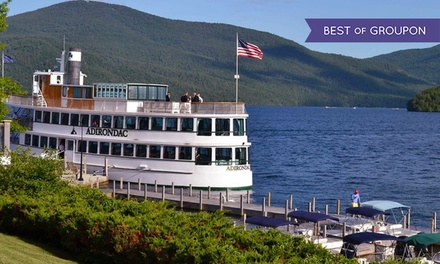 Two-Hour Afternoon or Evening Cruise for Two or Four from Lake George Shoreline Cruises (Up to 53% Off)