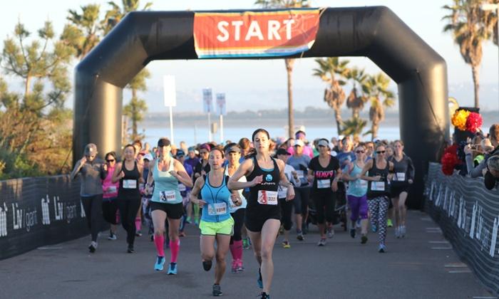 Mermaid Half Marathon San Diego - Mermaid San Diego Half Marathon, 5k, 10k: 5K, 10K, or Half Marathon Adult Entry at Mermaid Half Marathon San Diego on February 13 (Up to 29% Off)