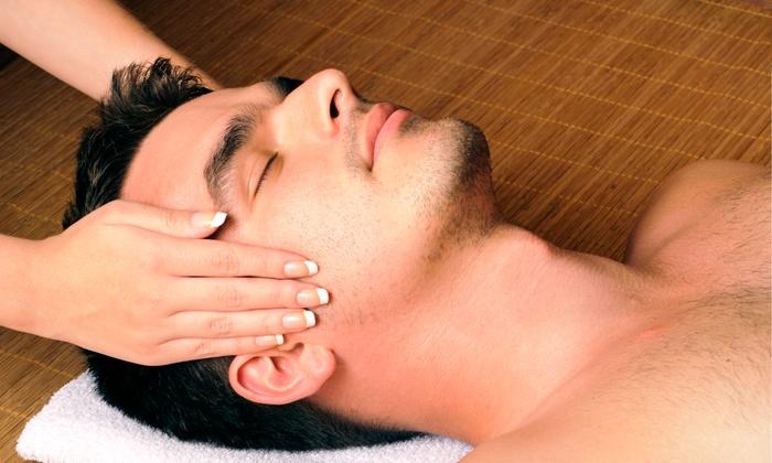 nu glo medi spa - Nu Glo Medi-Spa: Men's Facials with Optional 25-Minute Neck and Shoulder Massage at Nu Glo Medi-Spa (Up to 55% Off)