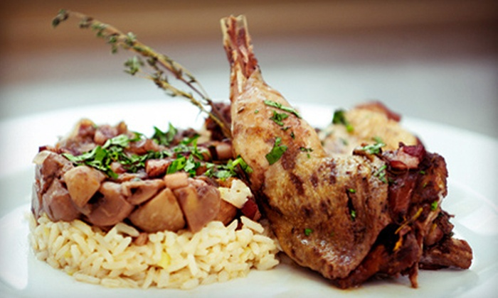 Flaming Torch Restaurant - West Riverside: French Cuisine and Drinks for Lunch for Two or Dinner for Two or Four at Flaming Torch Restaurant (Half Off)