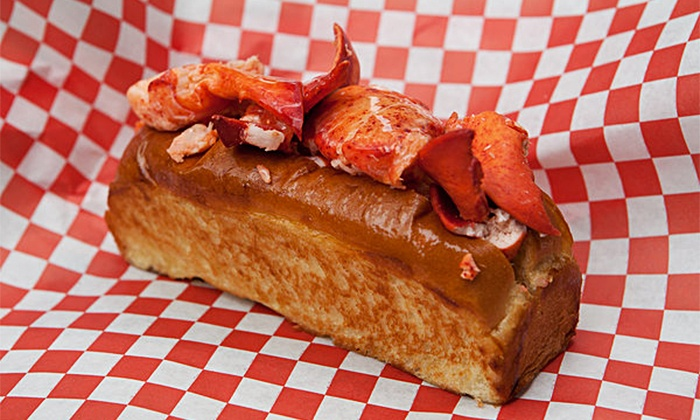 Da Lobsta - Multiple Locations: Lobster-Roll Meal with Chips for 1, 2, 4, or 12 at Da Lobsta (Up to 49% Off)