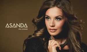 Asanda Aveda Spa Lounge: All-Over Color, Highlights, or Ombre or Balayage Artistry Color at Asanda Aveda Spa Lounge (Up to 64% Off)