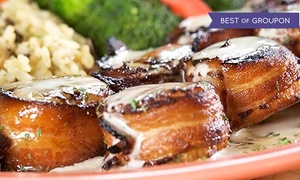 Squid Lips: Seafood Meal for Two or Four on Monday through Wednesday at Squid Lips (39% Off)