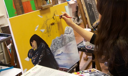 BYOB Drawing or Painting, Portfolio Prep, or Kids Art Classes at New York Art Studio (Up to 62% Off)