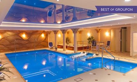 Kudowa-Zdrój: 1-7 nocy dla 2 osób z wyżywieniem, basenem, łaźnią, jacuzzi i więcej w Hotelu Adam & Spa