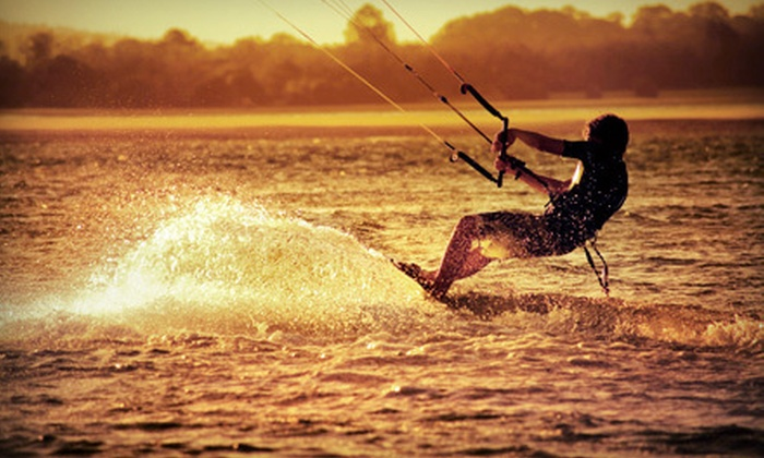 Islander Kiteboarding - Padre Island: Three-Hour Kiteboarding Lesson for One or Two at Islander Kiteboarding (Up to 58% Off)