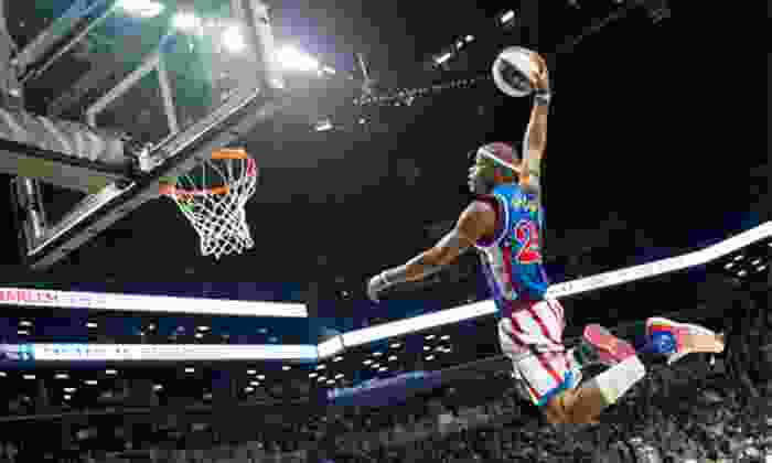 Harlem Globetrotters - Kanata Lakes - Marchwood Lakeside - Morgan's Grant - Kanata: Harlem Globetrotters Game at Canadian Tire Centre on April 6, 2014, at 2 p.m. (Up to 40% Off). Three Options Available.