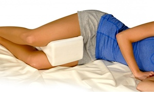 Contoured Memory Foam Leg Pillow