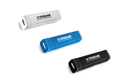 Xtreme 2600mAh Power Stick Battery Bank