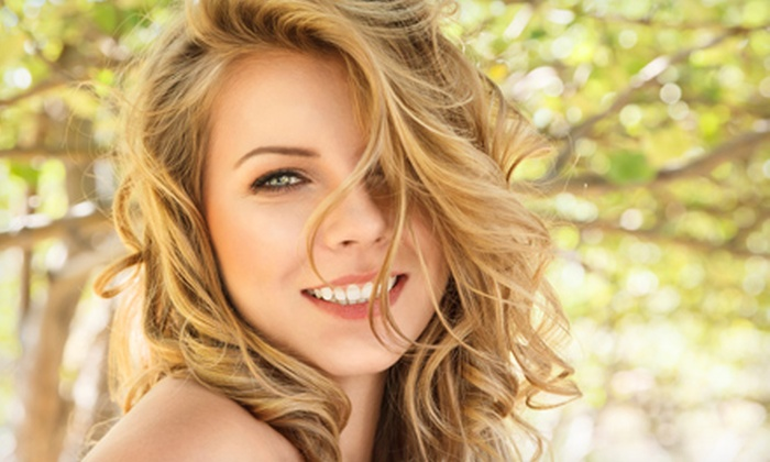 Imagine You New - St. Petersburg: Haircut and Style with Optional Partial Highlights at Imagine You New (Up to 59% Off)