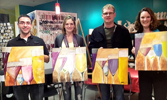 Sip & Stroke - Ellard: Adult BYOB Painting Class for One or Two at Sip & Stroke (Up to 57% Off)