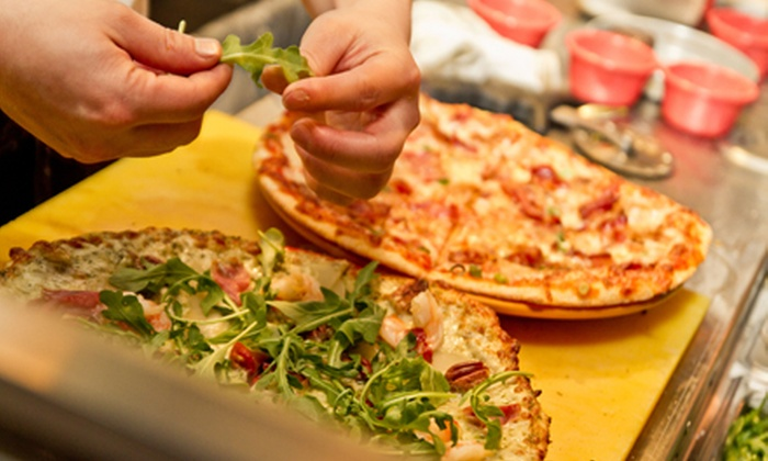 ZaZaZa Pizza With Pizazz - Hintonburg - Mechanicsville: Gourmet Pizza Dinner with Appetizer and Dessert for Two or Four atZaZaZa Pizza With Pizazz(Up to 52% Off)