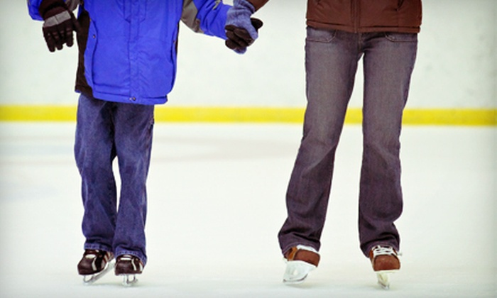 Oak Lawn Park District Ice Arena - Oak Lawn: Ice Skating with Skate Rental for Two, Four, or Six at Oak Lawn Park District Ice Arena (Up to 54% Off)