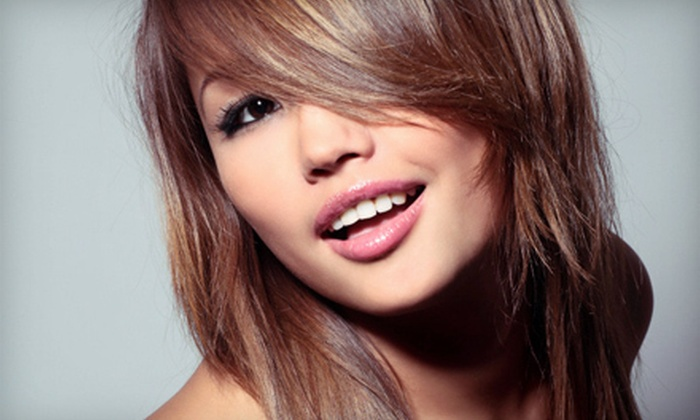 Saving Grace Hair Studio - Cathedral: Haircut and Single-Process Colour or Full Highlights at Saving Grace Hair Studio (Up to 55% Off)
