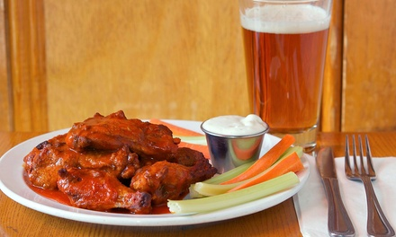 $25 for One Appetizer and Two Specialty Take-Home Growlers at Bulldog Brewery ($48.99 Value)