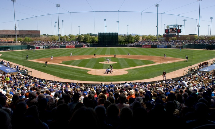 Chicago White Sox or Los Angeles Dodgers Spring Training - Camelback Ranch: Chicago White Sox or Los Angeles Dodgers Spring-Training Game at Camelback Ranch (Up to 53% Off)