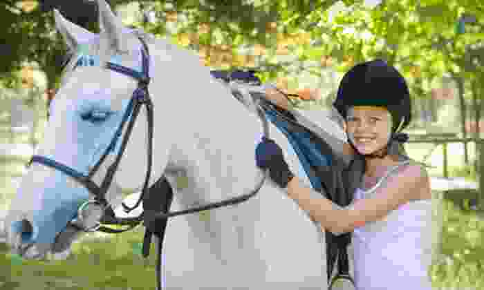 White Briar Farms - Eno: $249 for a Five-Day Summer Equestrian Camp at White Briar Farms ($500 Value). Six Options Available.