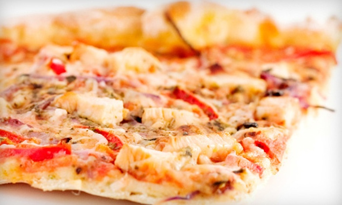 Gio's Restaurant & Lounge - Griswoldville: Pizza, Pasta, and Sandwiches for Two or Four at Gio's Restaurant & Lounge in Wethersfield (Half Off)