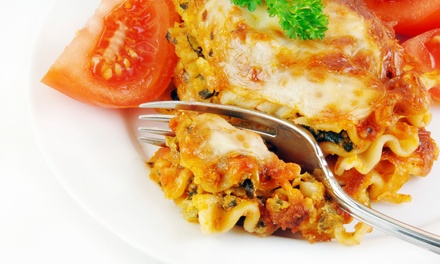 One or Three Groupons, Each Good for $14 Worth of Italian Food at Calabria Bakery (Up to 50% Off)