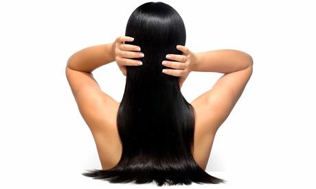 Brazilian Keratin Hair Treatment with Optional Haircut at Edan Edan Salon (Up to 78% Off)
