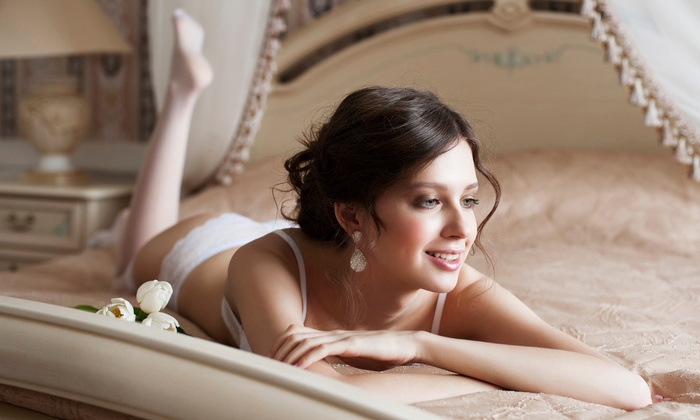 Cloutier Photography - Boudoir Session - Hingham: $115 for $230 Groupon — a two-hour in-studio boudoir photo shoot and 8x10 print