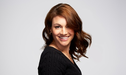 Haircut, Highlights, and Style from Hair Designs By Tasha At Studio 53 Salon And Day Spa (45% Off)