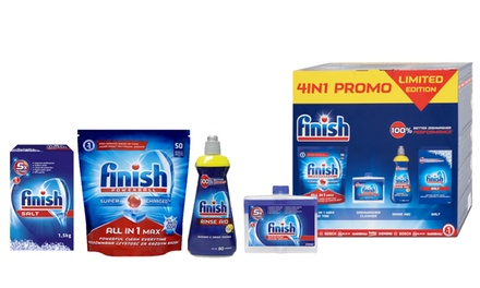 One or Two Four-Piece Finish Cleaning Sets